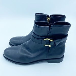 Sperry Top Sider Clinton Leather Ankle Boots, 6.5